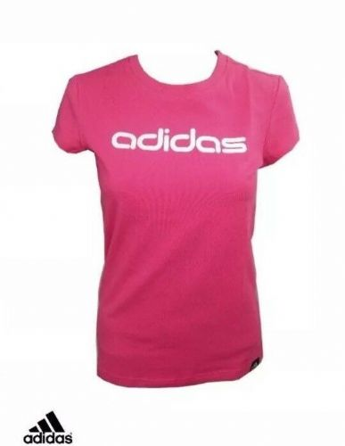 adidas PerformanceT-Shirt Tee Rose Pink UK10 BNWT Z15516 Sport Gym Training
